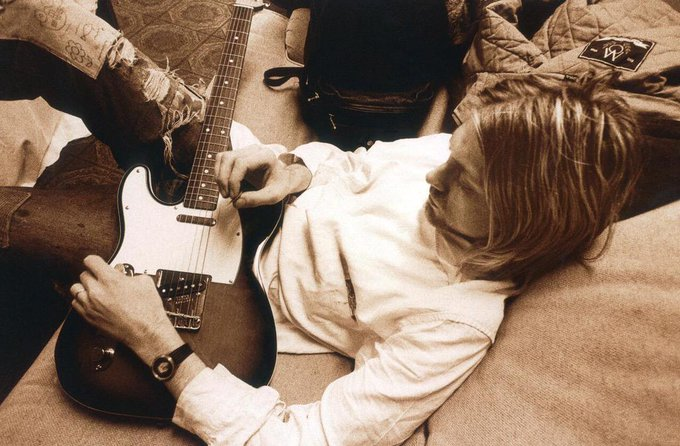 Happy birthday Kurt Cobain. Thank you for sharing your beautiful soul with us, 1967-forever. I love you