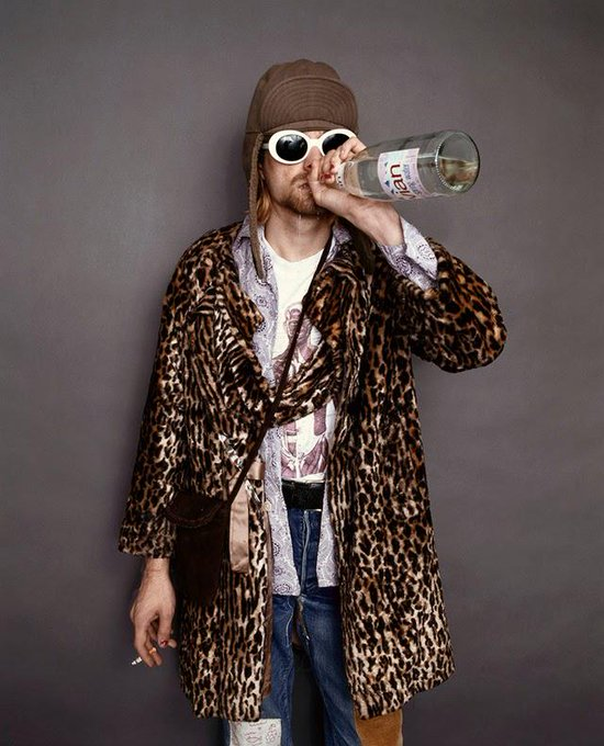 Happy 48th birthday Kurt Cobain, you\re one of best inspiration.