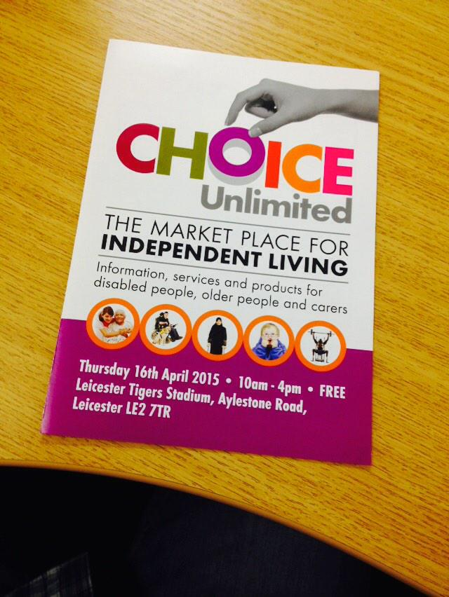 Choice Unlimited Leicester - cover