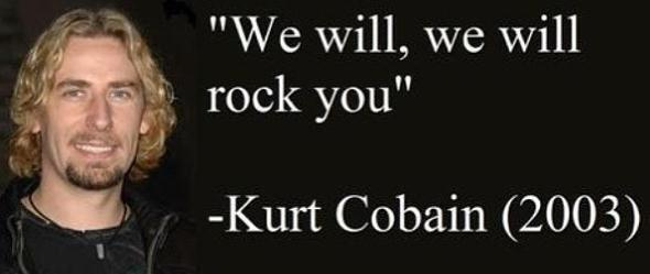 Happy 48th birthday, Kurt Cobain