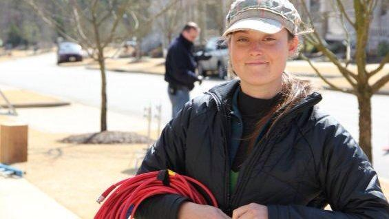 One year ago, we lost Sarah Jones. Think of her. Be safe on set. Today and every day. #SafetyForSarah @SlatesForSarah http://t.co/cMfVlWkoR5