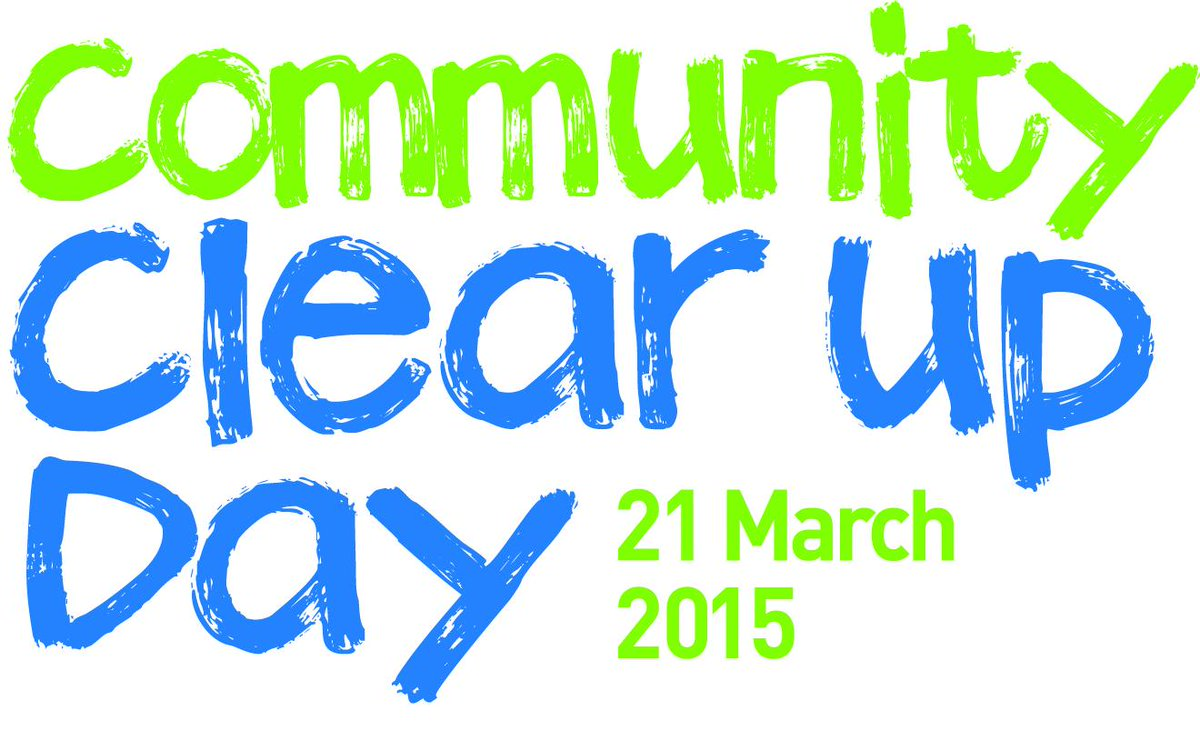 Community #ClearUpDay is coming soon....20-21 March. Watch out for more news next week on how you can get involved! http://t.co/nlDngv10Vv