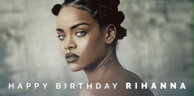 Happy Birthday @Rihanna! http://t.co/JjDGvFSsvt