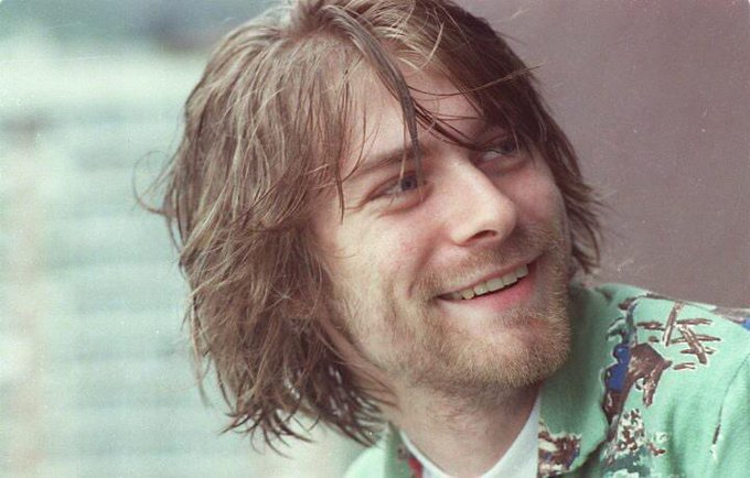 Happy birthday Kurt Cobain. The one i love the most.
