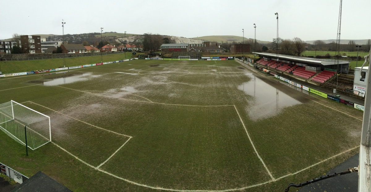 Sorry to say but the prospects for the match v @ETFCOfficial aren't great so we've an inspection planned for 9am. http://t.co/7VAtYgn18B