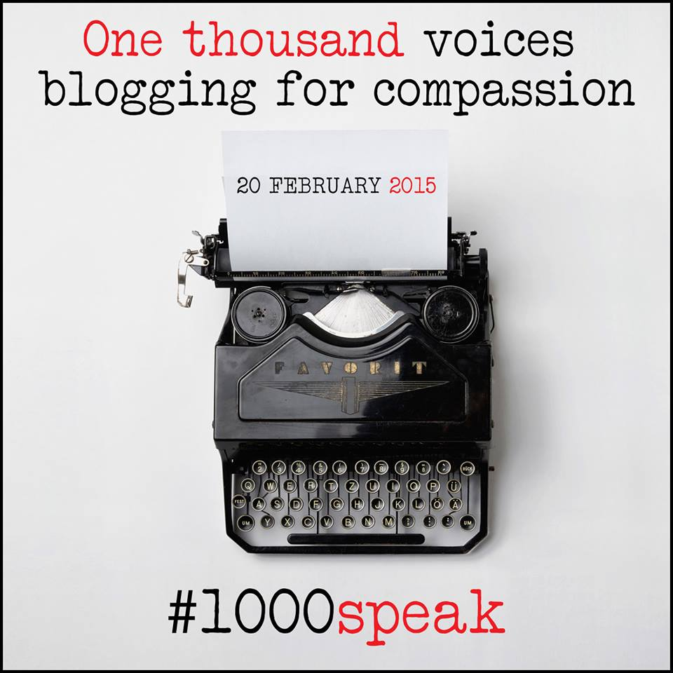 Share your stories of compassion! #1000Speak https://t.co/znejjgM7jS http://t.co/vFdcNGjjFj