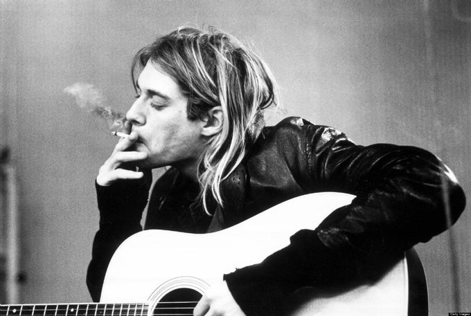 Happy birthday to the king rip kurt cobain xxxx