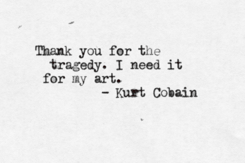 Happy Birthday, Kurt Cobain.