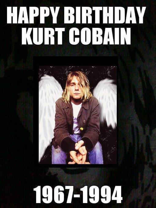 . *´¨`*  Happy Birthday To Kurt Cobain  *´¨`* .