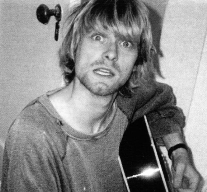 Happy birthday to Kurt Cobain, rip (1967-1994)