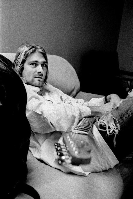 Happy birthday Kurt Cobain it\s terrible that people pushed you to do what you did but we still love and miss you