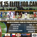 @CityBoyGreg is invited to SPE15ELITE100 in Houston TX may 30 please fillout player form http://t.co/H7YeZWZPwi  http://t.co/Ubp2KN3Gxe