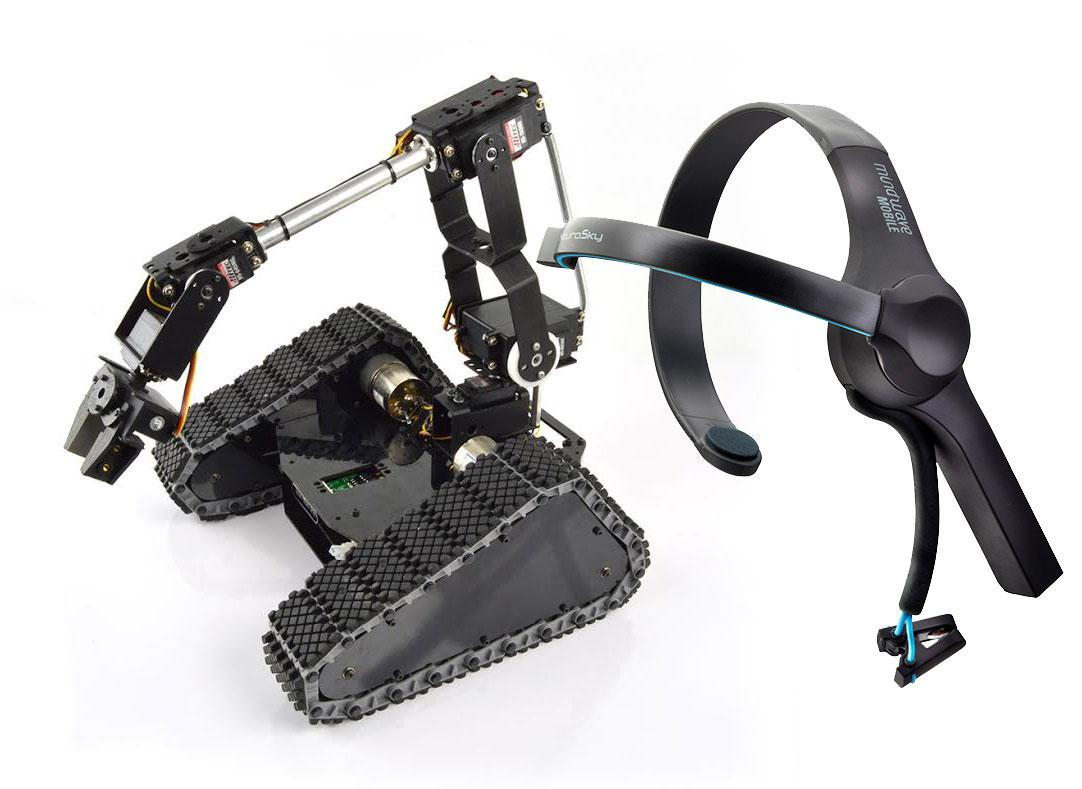 Brain Controlling Lynxmotion Tri-Track With NeuroSky MindWave http://t.co/sbR9UgmClC http://t.co/BB0IgtHLwl