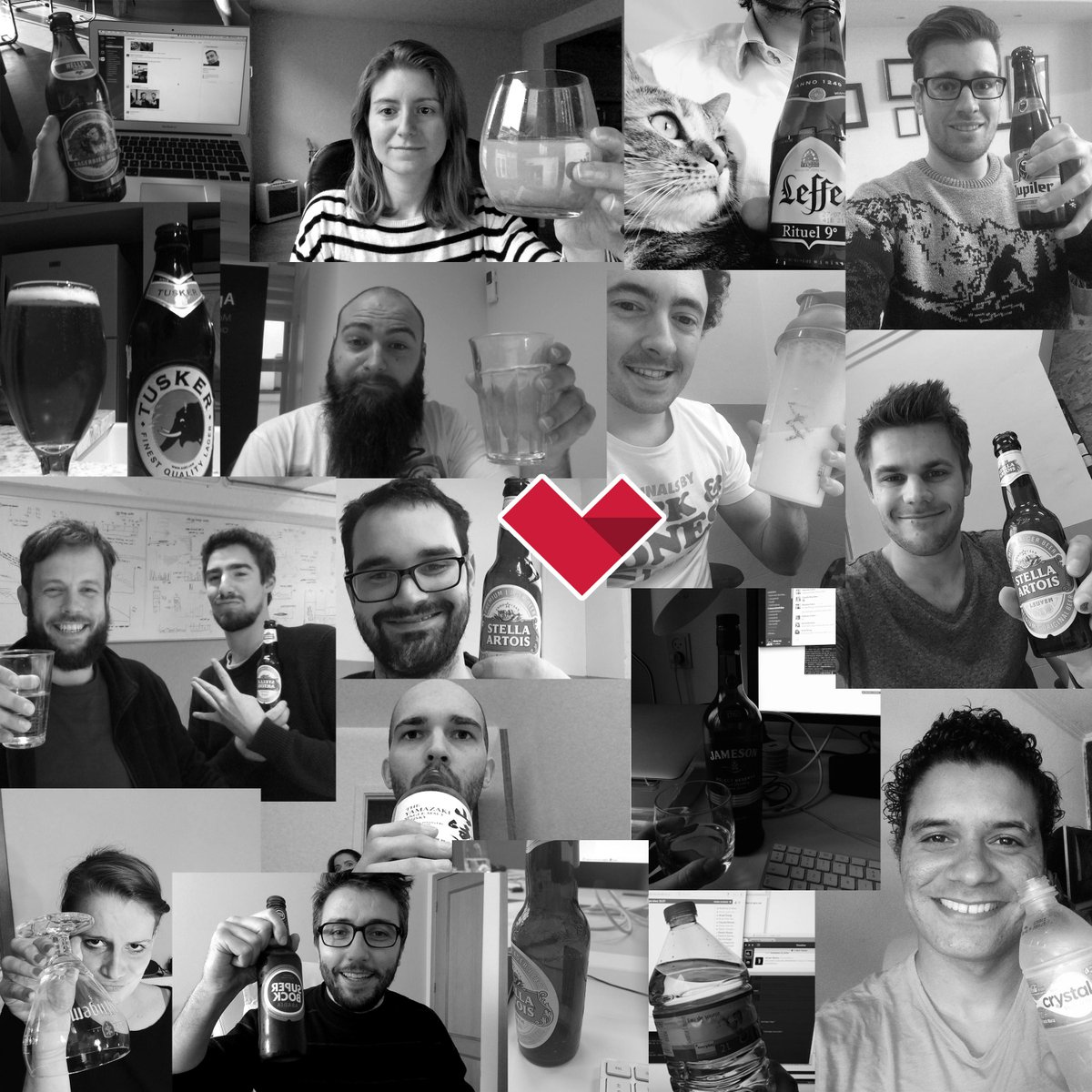 After our #innovationfriday, it is beer o'clock around the world for the @madewithlove team (or any other beverages) http://t.co/euIQSD9kPA