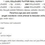 Jual followers murah ni http://t.co/mvMZWwZCTY minat? mention @N0tesSahabat . thanks kak Sindi Prillvers @sindi_melani: @PrillyBi...