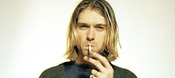 Happy birthday to the legend Kurt Cobain. RIP.