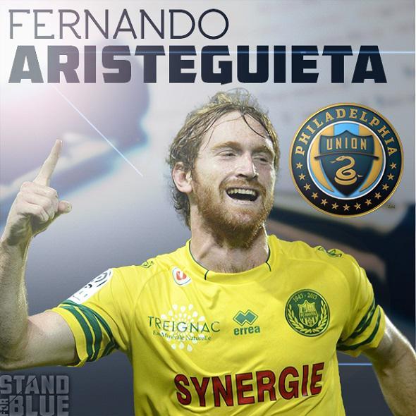 JUST IN: Union acquire striker Fernando Aristeguieta: http://t.co/d3debLb9PW http://t.co/Igzuq8ex4K