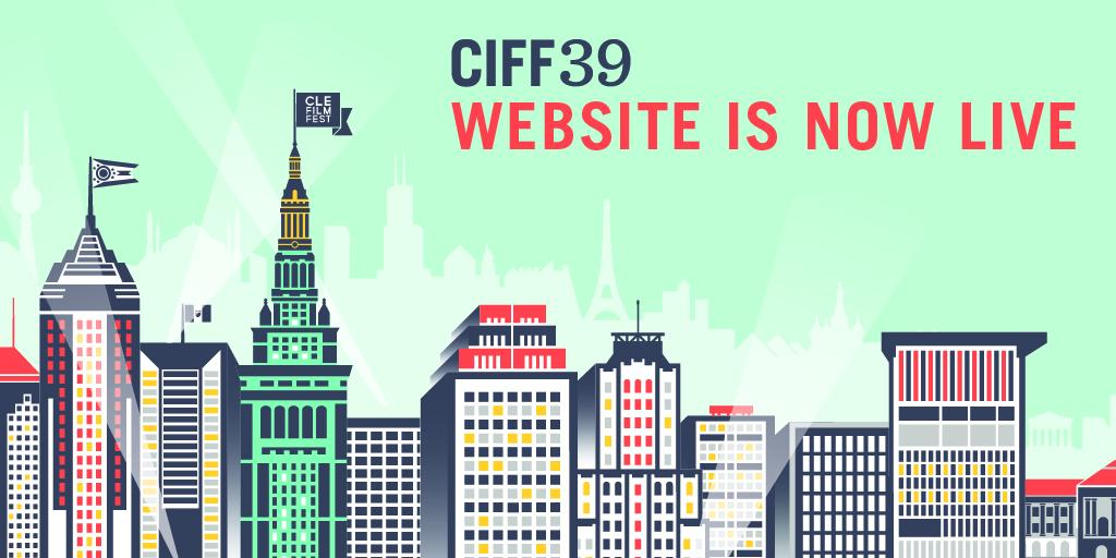 Clear your day and grab some popcorn because the #CIFF39 website is live! http://t.co/P6JKL99BP2 #CleFilmFest http://t.co/jZwGFUpKU0