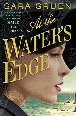 #FF Water for Elephants author @SaraGruen - new book out on 3/31 AT THE WATER'S EDGE #AtWE #wfe http://t.co/MUtKW6H76I