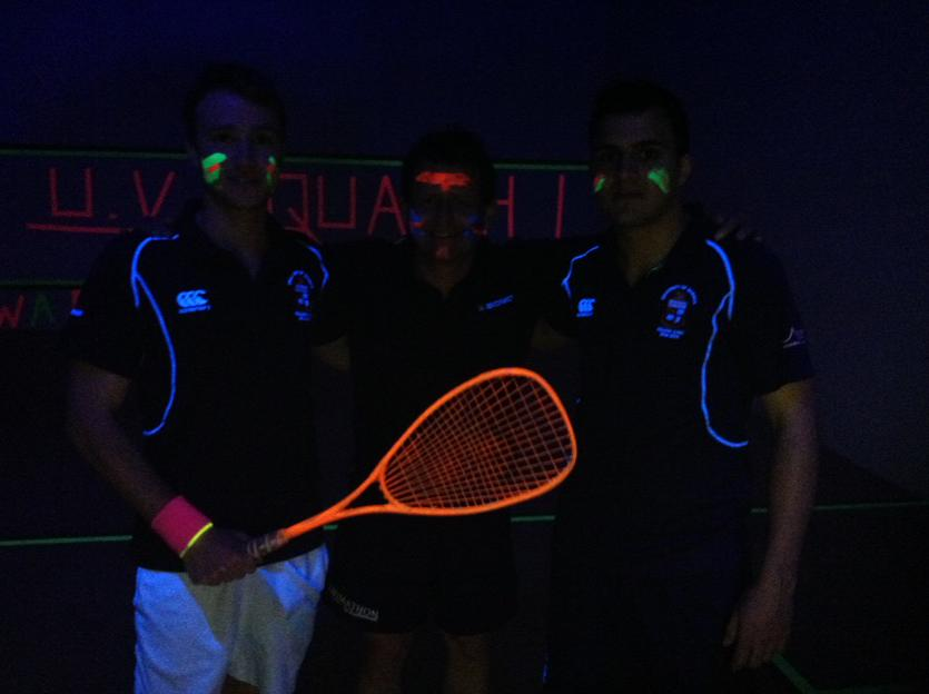 On @bbcbreakfast 2moro any1 4 #squash in da dark @achrisevans @bbcgetinspired getting students from uni bar to sport http://t.co/G5rN3B7Lck