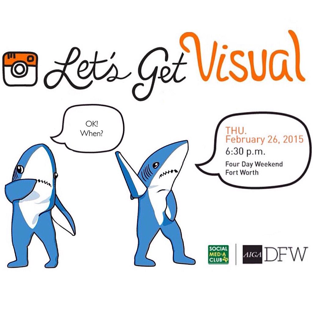 Let's Get Visual: Get the scoop on how to use visuals to maximize your social efforts. Details http://t.co/U27w4CTtMP http://t.co/CCAoM5h9Zs