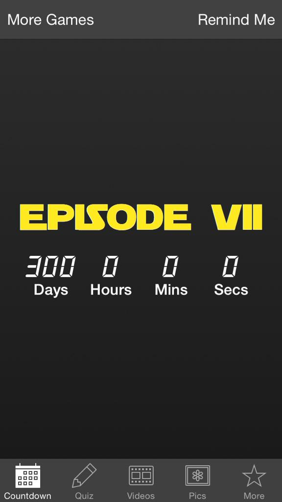 Exactly 300 days until #TheForceAwakens @starwars http://t.co/89G9YakZDB
