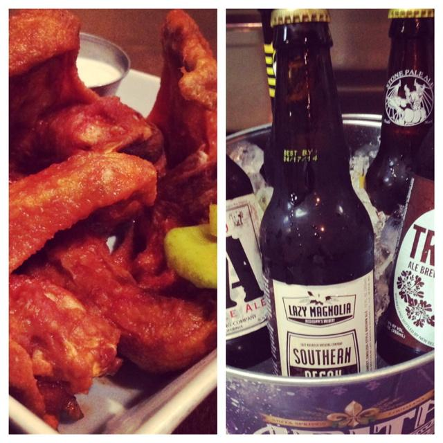 We decided to run ALL YOU CAN EAT wings tonight $10 beer buckets, too! - you're cold and we want to fix that! #memice http://t.co/vzDhBLK7kE