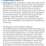 RT @nightstar79: The promoters have released a statement regarding @ciara's New Zealand Shows.