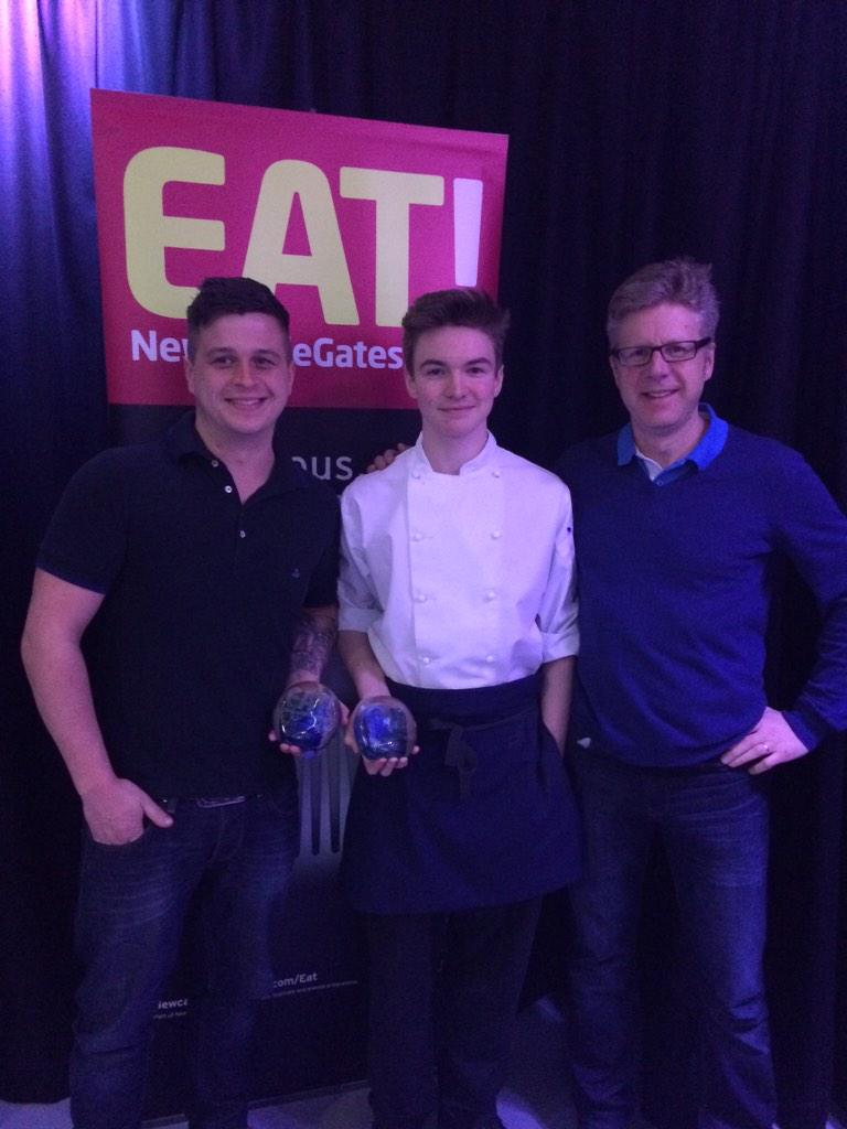 We're thrilled to announce that our Future Chef 2015 winner is @gatesheadcoll's Simon with mentors @BlackfriarsRest! http://t.co/fOqxxL8hRC