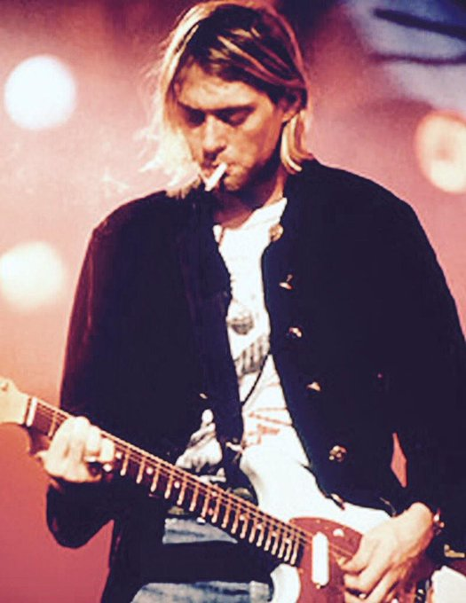 Happy birthday Kurt Cobain RIP