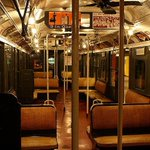 """Remember When This Was Called a """"Modern"""" Subway Car?   #NYC #NY http://t.co/i4mYZZKqDP"""