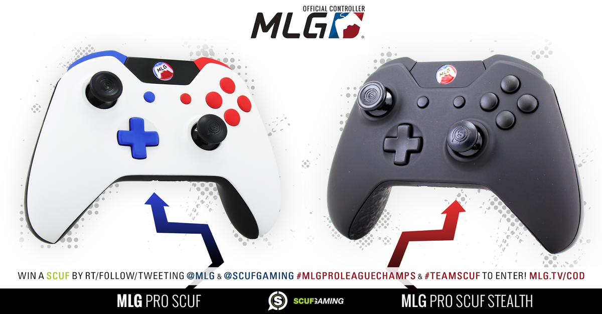 Win a SCUF by RT/Follow/Tweeting @MLG & @ScufGaming #MLGProLeagueChamps & #TeamSCUF to enter!  http://t.co/yg6J8iZEDc http://t.co/lAcZerzClz