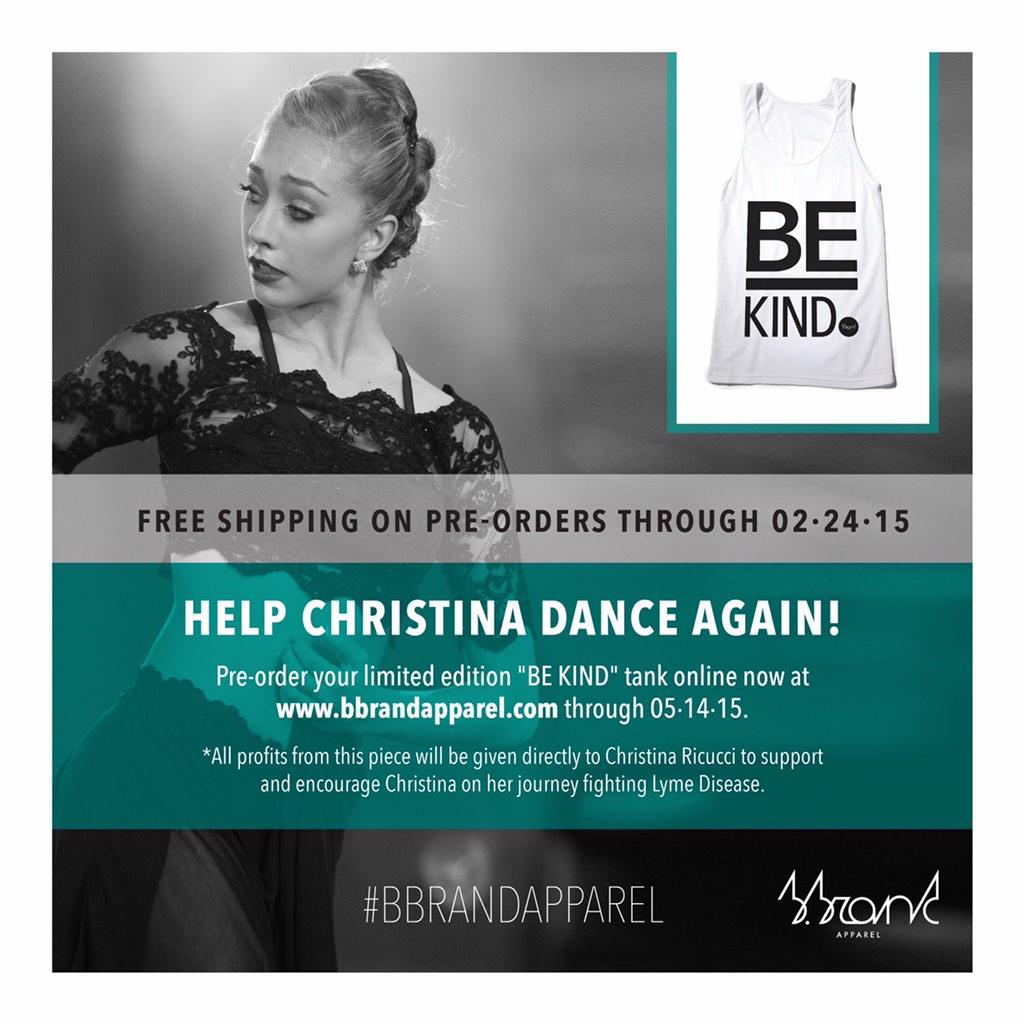 """@BBrandApparel: RETWEET if you ❤️ @ChristinaRicucc http://t.co/w0zHXC5M5S http://t.co/DlXrwFEwMH""@capezio @Dance_Magazine @Dance_SpiritMag"