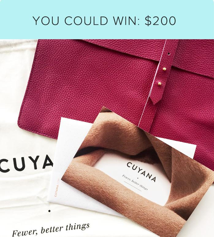 We're giving away $200 towards your very own monogrammed @cuyana tote!  #MyToteStory  http://t.co/vqyp3Mw0bf http://t.co/M8KKuUlcNO