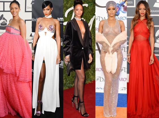 Happy birthday Rihanna! Our fave jaw-dropping styles from RiRi: