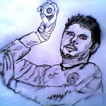 RT @VishnuVo36: Its jst a pencile drawing frm my album , RT if u can find him ;-) @sreesanth36 #JusticeForSreesanth @BCCI #CWC15