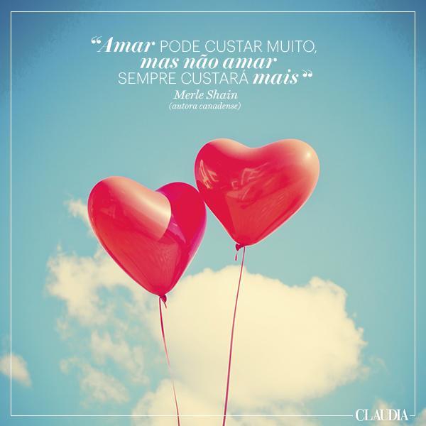 Bom dia :) Nós desejamos um sábado cheio de amor! #revistaclaudia #quotes #inspiração http://t.co/GxqZ5rNTQb
