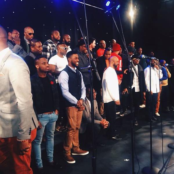 This #MightyMen project is looking excellent! (Photo from @FaithChildMusic) http://t.co/ps20BTckef