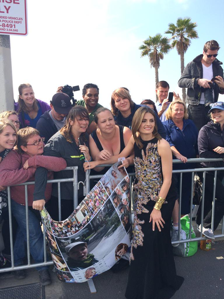 @Stana_Katic at the #SpiritAwards http://t.co/6tJI7Zhuxs