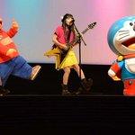 「やっていてよかった」miwa、ドラえもんと「360°」パフォーマンス http://t.co/plPJ7ngf6s #miwa http://t.co/0uEKp7Ai6z