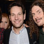 Me with @OrvilleIV, #PaulRudd and an @amyschumer photobomb. (Photo by @KevinMazur) #NOTMS http://t.co/GpRLVc2l5J