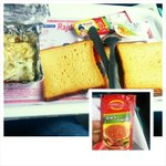 And finally, the eagerly awaited breakfast ! (Also, introduction to a new ketchup brand) #ShatabadiExpress #जलपान