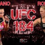 Ronda Rousey (10-0) vs Cat Zingano (9-0). UFC 184. LET'S GO!! http://t.co/bMOBpFAvHC