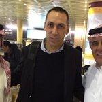وصول مدرب الهلال الجديد، اليوناني جورجوس دونيس،إلى الرياض لتدريب الفريق خلفا للروماني لورينتيو ريجيكامب #صباح_العربية http://t.co/4vx5kAabr7