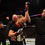 Ronda Rousey improves to 11-0 professionally after her 14 second (official) win over Cat Zingano. http://t.co/SPdYnkRfZp