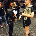 Jada Pinkett Smith congratulates @RondaRousey on her impressive victory at #UFC184. http://t.co/3BOIMFew8B