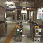 2015-03-01昨日から新ホーム名鉄知立駅