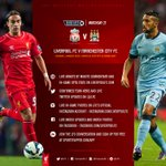Heres how you can follow every kick of the game with our official online coverage...#LFC http://t.co/2iOGHJd2lR by @lfc