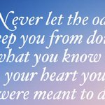 #MondayMotivation: You Know in your Heart.... http://t.co/2MROJKU8vb