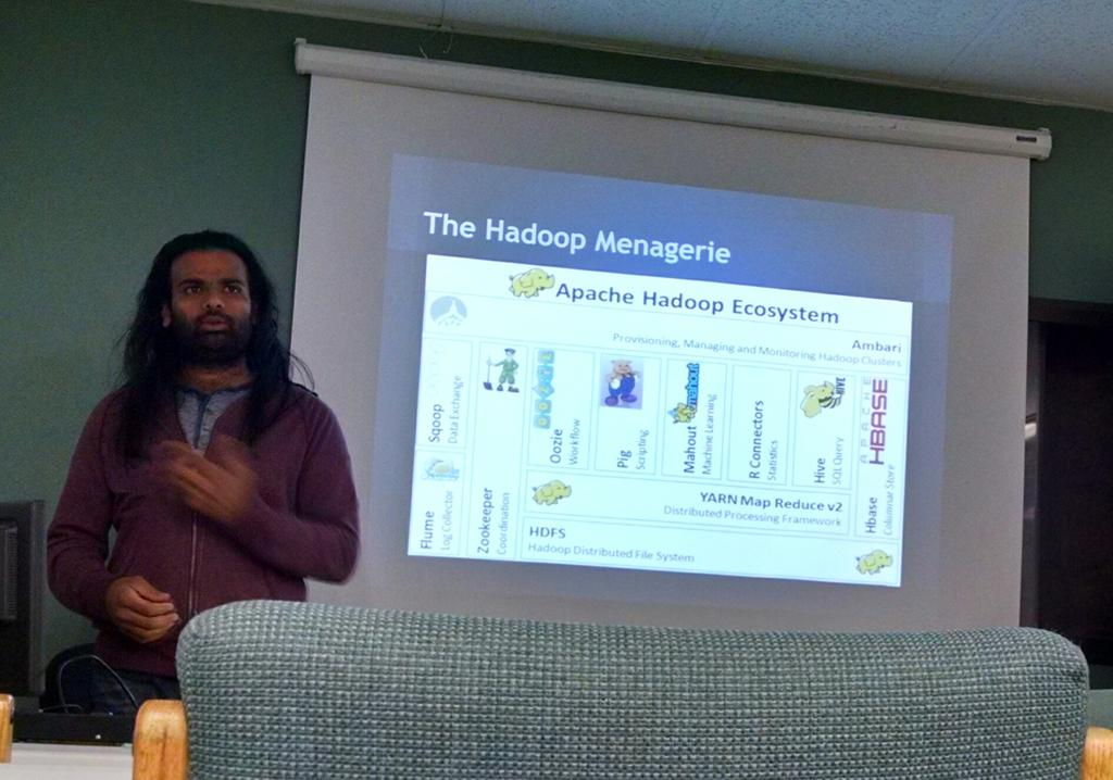 Vijay Ratnagiri breaking down Hadoop for us at @SLCLinux at @801Labs http://t.co/cPrP7VO2ZW